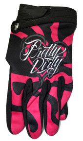 Pretty Dirty MX ATV BMX Motocross Off-Road Dirt Bike Adult Riding Gloves