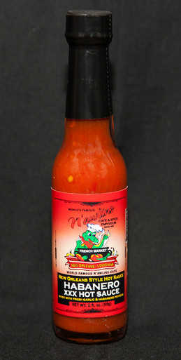 Habanero XXX Hot Sauce from World Famous N'awlins Cafe & Spice Emporium