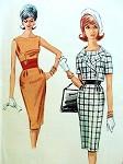 1960s SLIM DRESS SHORTIE JACKET PATTERN MAD MEN 60s FASHION McCALLS 6269