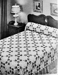 INSTANT DOWNLOAD PDF Beautiful Heirloom Lace Crocheted Pansy Flowers Bedspread Vintage Crochet Pattern 2 Sizes Cottage Chic