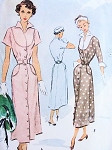 1940s Stylish Dress Pattern McCall 7694 Lovely Bib Bodice With Wing Collar and Cuffs Classy Design Bust 32 Vintage Sewing Pattern