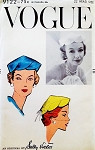 1950s FLIRTY Sally Victor Hat Pattern VOGUE 9122 Close Fitting Hat With Scalloped Edge Tres Chic FACTORY FOLDED Vintage Sewing Pattern