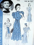 1930s LOVELY DRESS ,BOLERO PATTERN HOLLYWOOD MOVIE STAR JOAN BENNETT