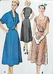 1950s Sweetheart Neckline Cocktail Dress and Bolero Pattern McCALLS 9345 Figure Flattering Style Daytime or Evening Vintage Sewing Pattern FACTORY FOLDED