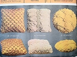 VINTAGE POP SMOCKED PILLOW PATTERNS 3 STYLES SMOCKED CUSHIONS McCALLS 8215 Vintage Sewing Pattern