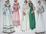 1970s ROMANTIC WEDDING DRESS BRIDAL GOWN PATTERN SIMPLICITY 6671