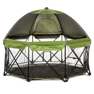 Portable Pet Pen With Canopy