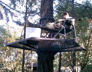 Portable Zip Perch And Hunting Stand Package Treehouses Com