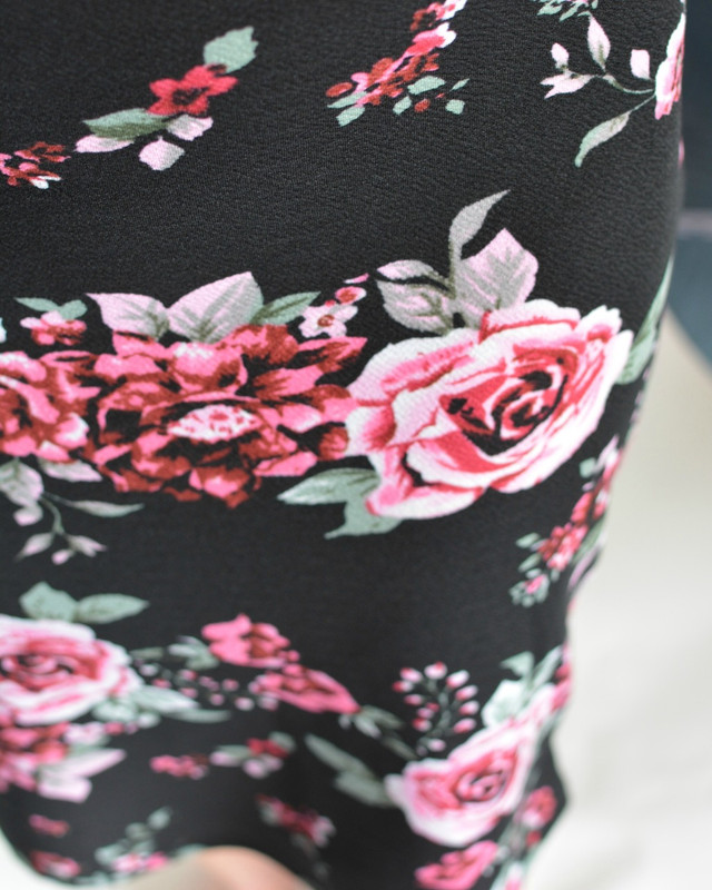 Ramblin Rose Pencil Skirt