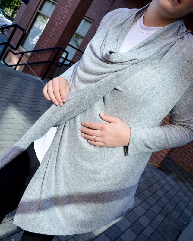 Rachel Cardigan Heather Grey