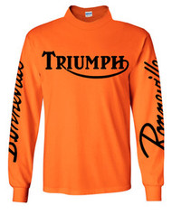 High Visibility riding jersey (Triumph Bonnville)