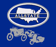 Sears Allstate badge logo sweatshirt