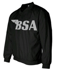 BSA windshirt (Black/Gunmetal grey)