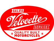 Velocette tee (charcoal sales/service)