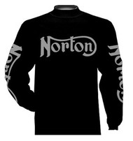 Norton riding jersey (gunmetal grey)