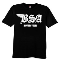 BSA tee shirt BSA motorcycle shirt