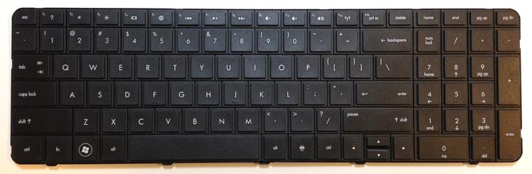 HP G72 Laptop Keyboard Key Replacement
