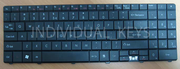 gateway NV black keyboard