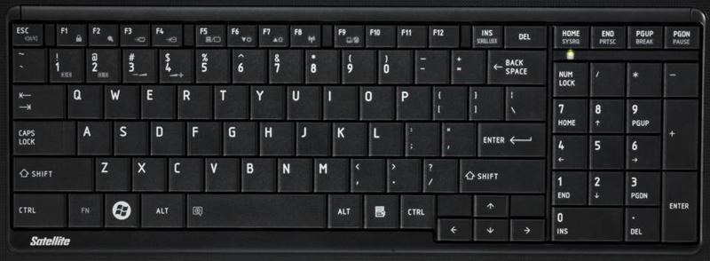 L755 Laptop Keyboard Key