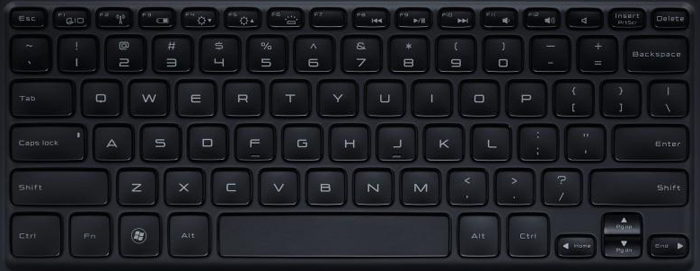 Dell XPS 13 Laptop Keyboard Key Replacement