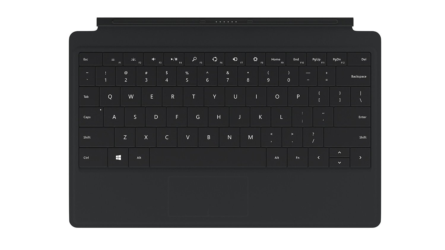 microsoft type cover how to put key back in