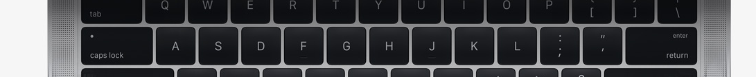 Apple 2016 MacBook Pro Keyboard