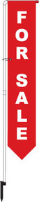 For Sale Yard Marker Red