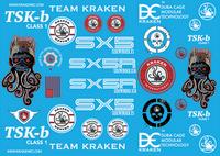 TSK-B/SX5 Decal Sticker Sheet