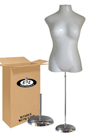 Deluxe Large Female Mannequin with Base