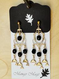 Dolphin Chandelier Earrings