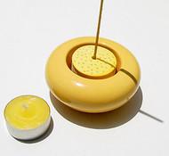 Ceramic Incense Burner & Tealight Holder (Various Color Options)