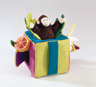 Peek-A-Boo Monkey Play Cube - Retired Folkmanis® Puppet