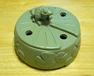 Azenta® Peaceful Frog Burner Cover