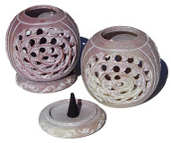Soap Stone Incense Cone or Tealight Burner