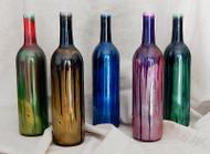 Drip-painted Smoking Bottles
