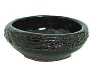 Black Ceramic Incense Cone Burner