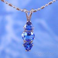 Siberian Blue Quartz Sterling Silver Pendant