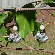 Riverstone Koala Earrings