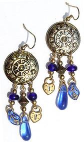 Coin Drops Earrings