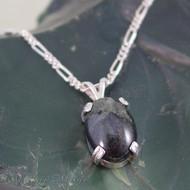Nebula Stone Sterling Silver Pendant