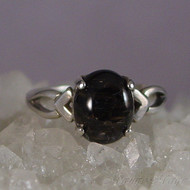 Nuummite Sterling Silver Ring - Size 7