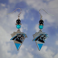 Carolina Panthers Earrings - Officially NFL licensed