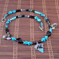 Carolina Panthers Ultimate Fan Necklace - Officially NFL licensed