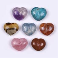 Chakra Gemstone Heart Set