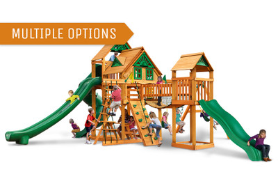 Treasure Trove II Swing Set