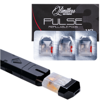 """Limitless - """"2ml Replacement Pods for the Limitless Pulse Pod System"""""""