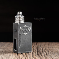 """Infinity Mods - """"I'M 718"""" Bottom Feed Mechanical Mod. Photo shown with drip tip, atomizer, and beauty ring attached for demonstration purposes only. These items are NOT included in this sale."""