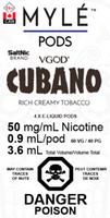 "MYLE - ""Cubano Pod"" (4 Pack)"