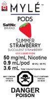 "MYLE - ""Summer Strawberry Pod"" (4 Pack)"