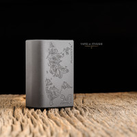 "SVA Mod - ""Punto 75C (World Edition) Engraved"" DNA75C Regulated Bottom Feed Mod"